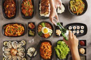 Korean-food-buffet-weekend-in-pullman-danang-vietnam-beach-resort-kimchi-flatlay-Korean-food-buffet-weekend-in-pullman-danang-vietnam-beach-resort-kimchi-flatlay-