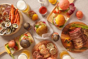 Sunday Beach BBQ Buffet in July
