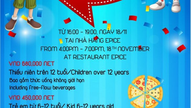 flyer-11cm-x-21cm_kiss-drop_front-pullman-danang-beach-resort-buffet-friendly-themed-for-kids-2