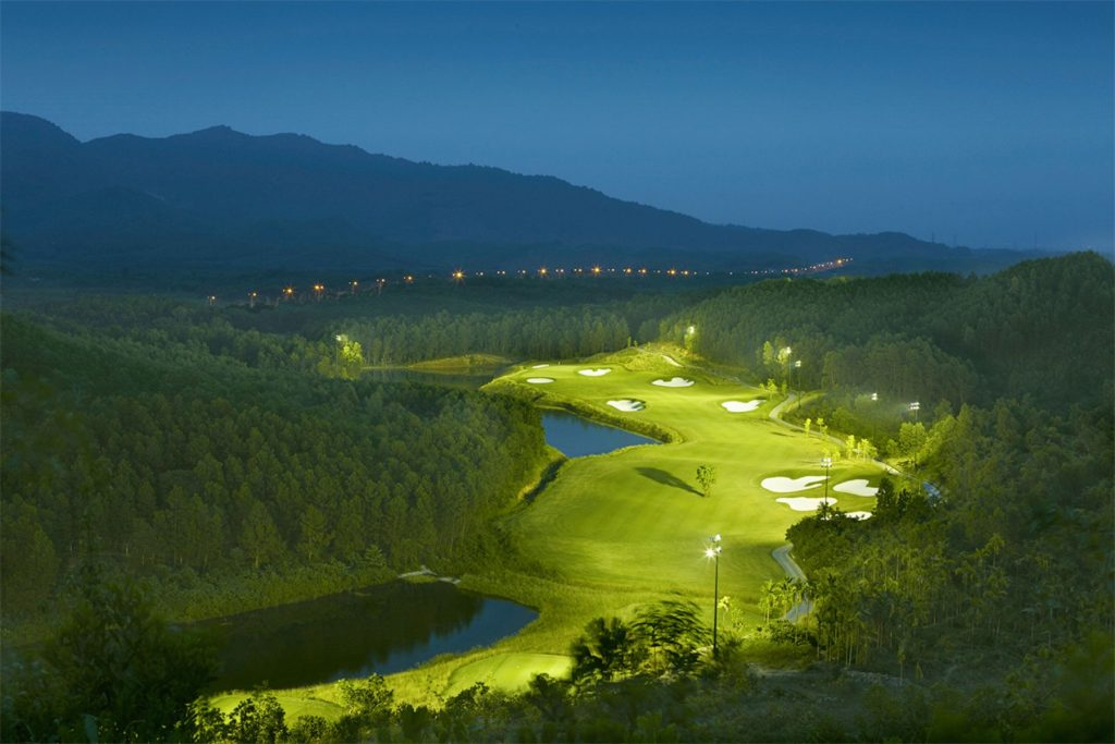 golf course, facilities, natural undulating, golf resort, bana hills