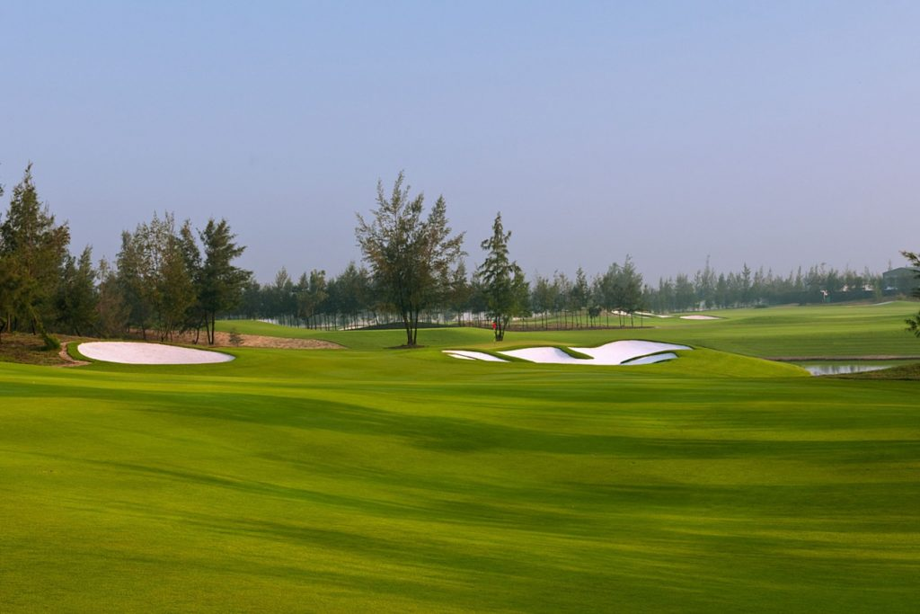 golf course, facilities, natural undulating, golf resort, montgomerie links