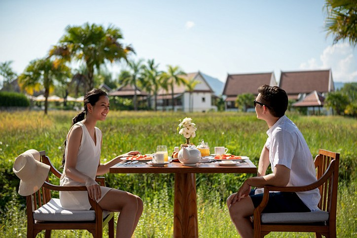 Pullman Luang Prabang, countryside, paddy fields, resort in Laos, world class meeting spaces