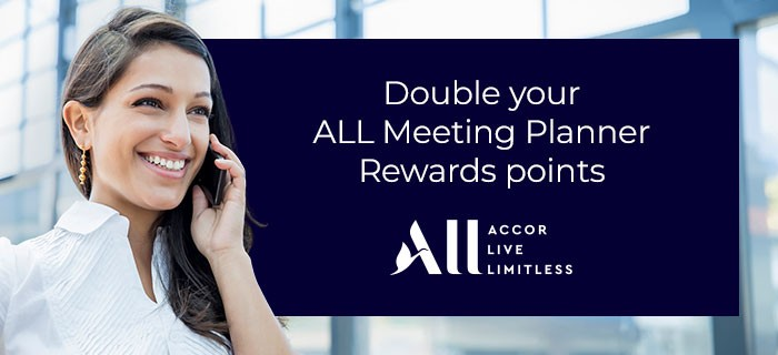 Double your point all meeting planner