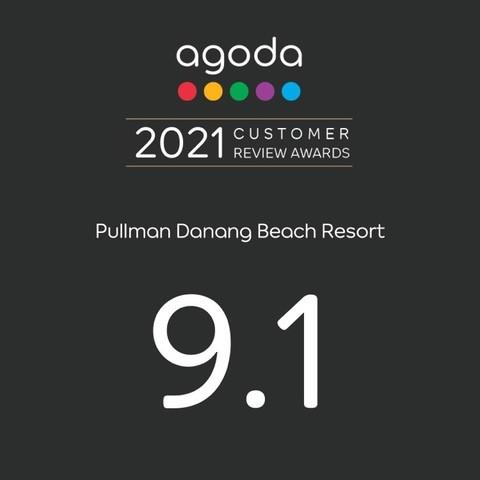 Agoda's 2021 Customer Review Award.